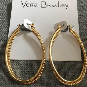 Vera Bradley Gold Earrings